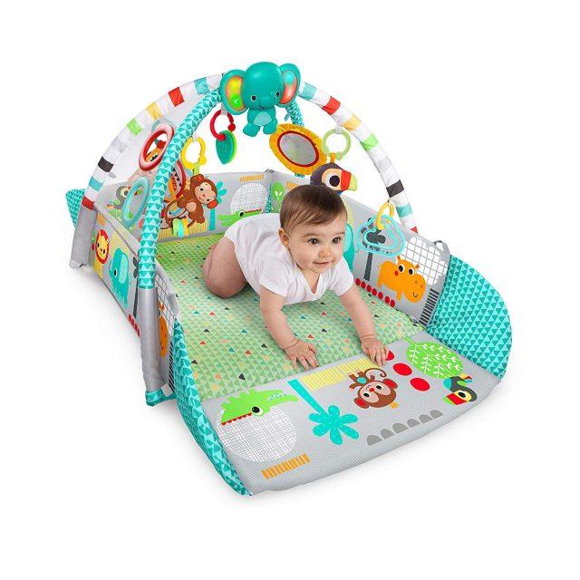 Bright Starts Your Way Ball Play, avis et test : Un tapis d'éveil bébé pas cher