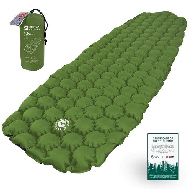 Ecotek Outdoors Hybern8 : Avis et test d'un super tapis de sol camping