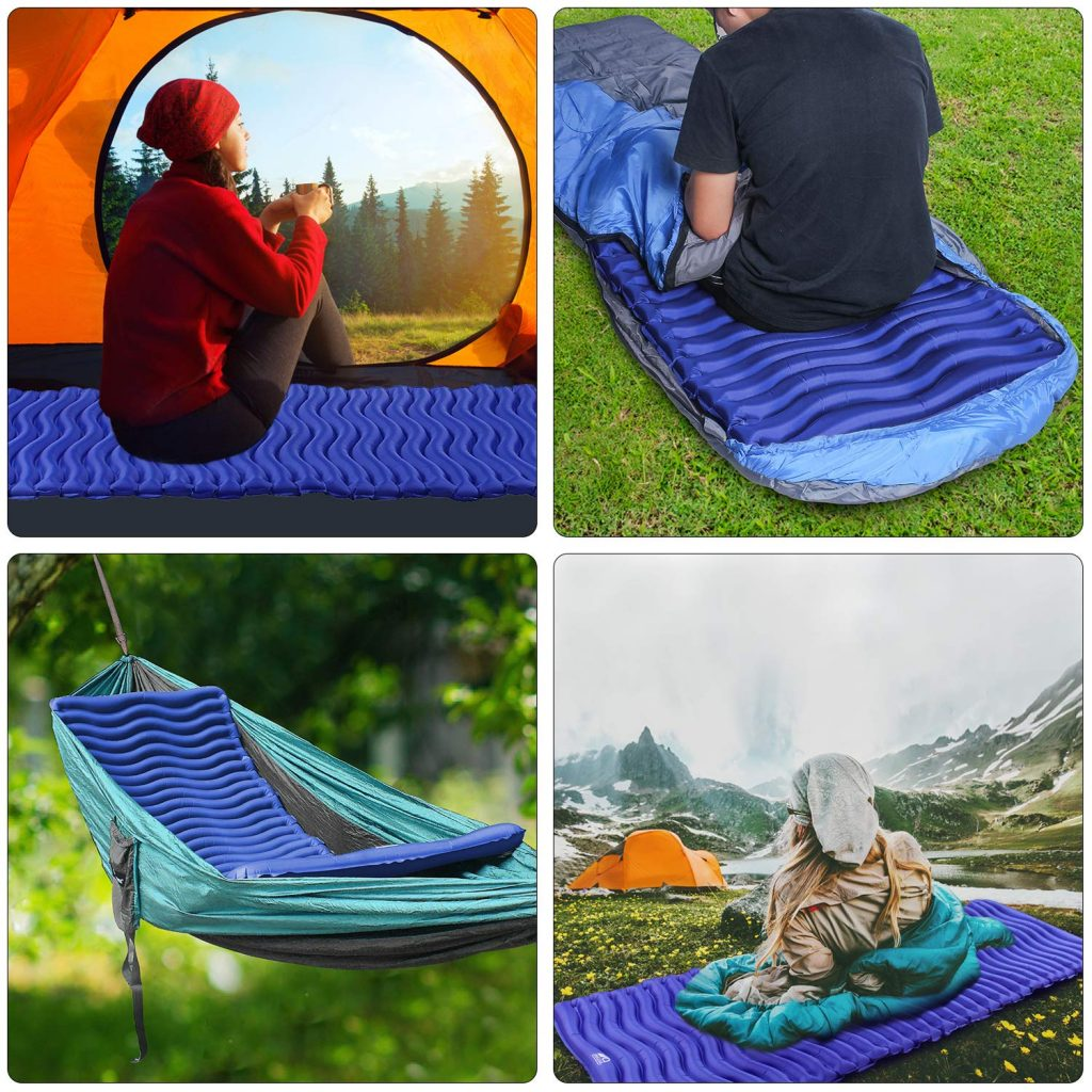 unigear matelas camping test
